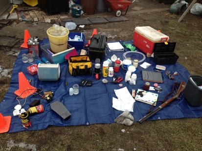 01-30-14 State Police Meth Arrest. photo provided by ISP