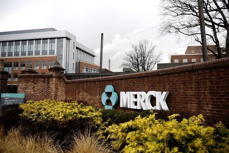 A view of the Merck & Co. campus in Linden, New Jersey March 9, 2009 file photo. REUTERS/Jeff Zelevansky