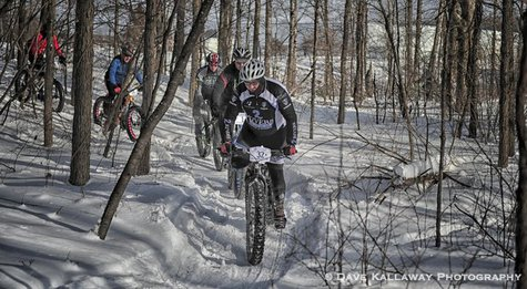 Fat Tire Bikes @ Badger State Winter Games, Wausau WI  Photo: Dave Kallaway Photography