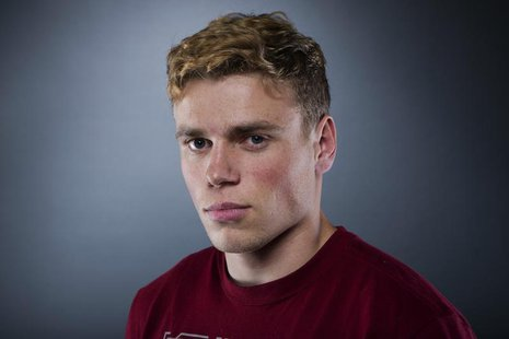 Olympic freestyle skier Gus Kenworthy poses for a portrait during the 2013 U.S. Olympic Team Media Summit in Park City, Utah September 30, 2