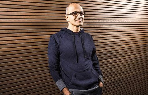Satya Nadella, executive vice president of Microsoft's Cloud and Enterprise group, is seen in this undated Microsoft handout photograph released on February 4, 2014. Credit: Reuters/Microsoft/Handout via Reuters