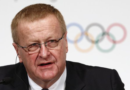 John Coates, International Olympic Committee (IOC) Vice President and Chairman of the Coordination Commission for the Games of the XXXII Oly