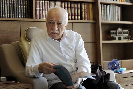 Islamic preacher Fethullah Gulen is pictured at his residence in Saylorsburg, Pennsylvania September 26, 2013. Born in Erzurum, eastern Turk