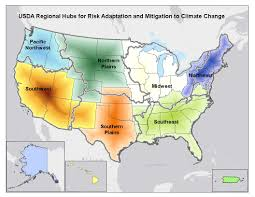 "The Obama administration will announce the formation of seven ""climate hubs"" to help farmers and rural communities adapt to extreme weather conditions and other effects of climate change. (USDA.gov)"