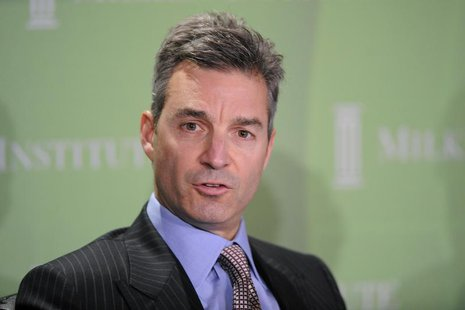"Daniel Loeb, CEO, Third Point LLC, participates in the ""Financial Firms: Past, Present and Future"" panel at the 2010 Milken Institute Global"