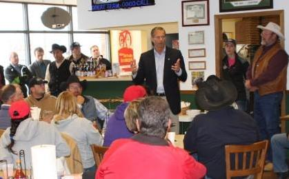 Senator Thune meets with ranchers in Hermosa to discuss Atlas storm damage. (KELO file)