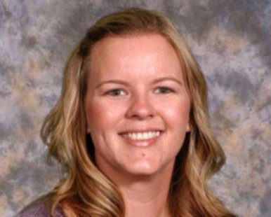 Leslie Rindfliesch (photo courtesy Zeeland Public Schools)