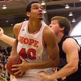 Hope College F Ben Gardner (photo courtesy Hope College)