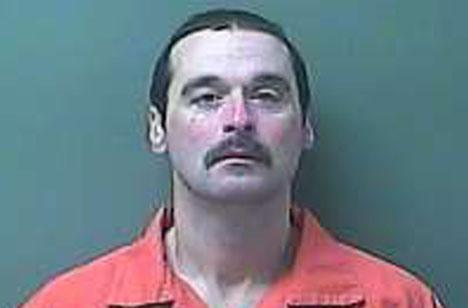 LaPorte County Mugshot of convicted killer and prison escapee Michael Ellot.