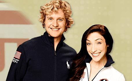 Meryl Davis and Charlie White (courtesy the Meryl & Charlie website)