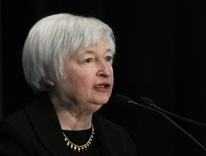 Federal Reserve Vice Chair Janet Yellen addresses the 29th National Association for Business Economics Policy Conference in Washington March