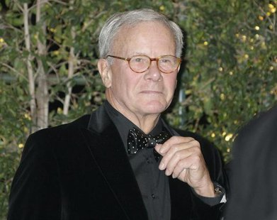 Former NBC Nightly News anchorman and author Tom Brokaw arrives at the Academy of Motion Picture Arts & Sciences 4th annual Governors Awards