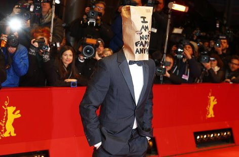 "Cast member Shia LaBeouf arrives on the red carpet to promote the movie ""Nymphomaniac Volume I"" during the 64th Berlinale International Film"