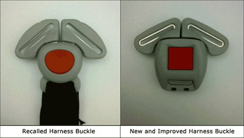 Graco harness buckles