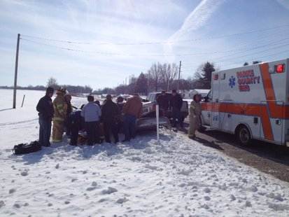 02-12-14 Parke County Crash Photo Courtesy Indiana State Police