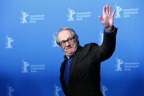 British film director Ken Loach pose during a photocall during the 64th Berlinale International Film Festival in Berlin February 13, 2014. R