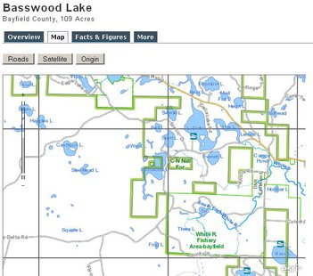 Basswood Lake http://dnr.wi.gov/lakes/lakepages/LakeDetail.aspx?wbic=2904900&page=map
