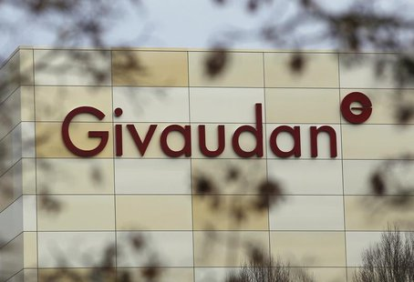A general view of the exterior of Givaudan's headquarters is seen in Vernier near Geneva February 4, 2013. REUTERS/Denis Balibouse