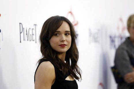 "Cast member Ellen Page poses at the premiere of ""The East"" at the Arclight theatre in Hollywood, California May 28, 2013. The movie opens in"