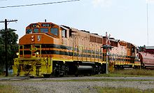 Genessee & Wyoming railroad