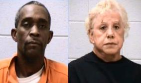Elvis Patterson and Lola Atkinson (mugshots provided by Kalamazoo County Sheriffs Dept.)