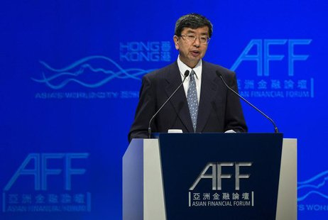 Asian Development Bank President Takehiko Nakao attends the Asian Financial Forum in Hong Kong January 13, 2014. REUTERS/Tyrone Siu