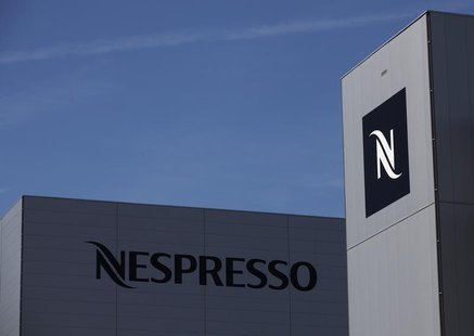 Nespresso production and distribution centre is seen in Avenches near Bern May 24, 2011. REUTERS/Denis Balibouse