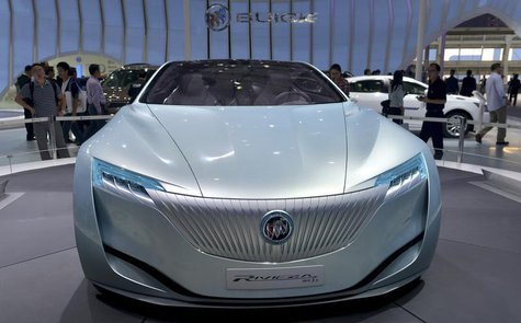 A Buick Riviera Concept car is seen at the Guangzhou International Automobile Exhibition in Guangzhou, Guangdong province, November 22, 2013