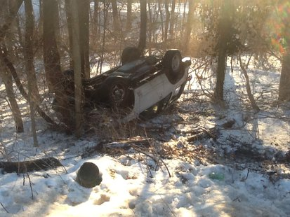 2-19-14 Vigo County Accident pic 1 provided by Vigo County Sheriff