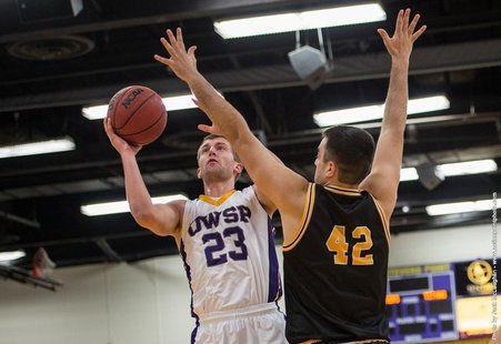 UW Stevens Point basketball vs. Oshkosh Photo: UWSP Athletics Dept.