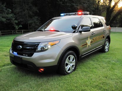 Vigo County Sheriff New Explorer Patrol Vehicle
