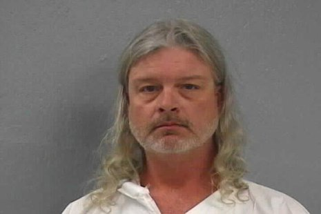 Greene County Missouri Sheriff's Office photo shows Craig Michael Wood who was arrested on suspicion of first degree murder in Springfield,