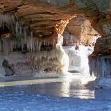 Ice Caves-Apostle Islands National Lakeshore, Bayfield Wisconsin.  Photo: Bayfield Chamber of Commerce & Visitors Bureau