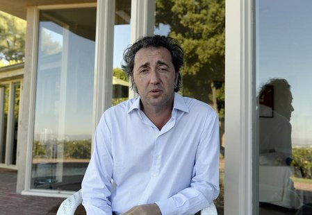 "Paolo Sorrentino, director of Oscar nominated foreign-language film ""The Great Beauty"", poses in Los Angeles, California, January 16, 2014."