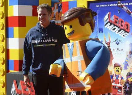 "Cast member Will Ferrell attends the premiere of the film ""The Lego Movie"" in Los Angeles February 1, 2014. REUTERS/Phil McCarten"