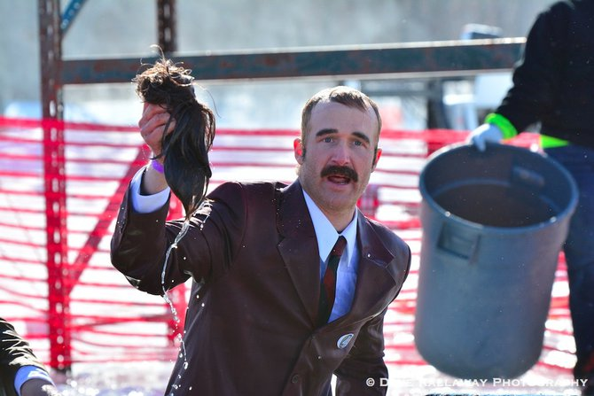 Ron Burgundy..thank you for taking your hair with you after you plunged!!
