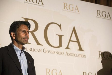 Governor Bobby Jindal (R-LA) attends the 2013 Republican Governors Association conference in Scottsdale, Arizona, November 20, 2013 file pho