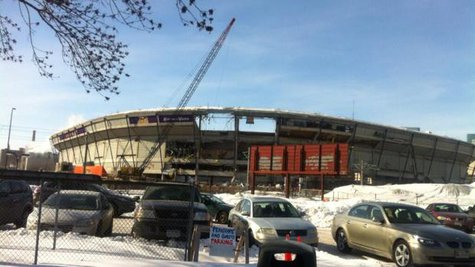 Metrodome Destruction