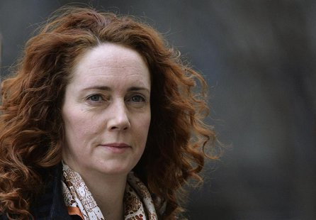 Former News International Chief Executive Rebekah Brooks arrives at the Old Bailey courthouse in London February 25, 2014. REUTERS/Toby Melv