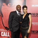 "Cast member Halle Berry (R) poses with co-star Morris Chestnut at the premiere of ""The Call"" in Los Angeles, California March 5, 2013. REUTE"