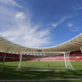 Beira-Rio Stadium is pictured during a visit by FIFA General Secretary Jerome Valcke in Porto Alegre February 18, 2014. REUTERS/Edison Vara