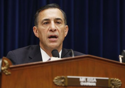 "Chairman of the House Oversight and Government Reform Committee Rep. Darrell Issa holds a hearing on ""ObamaCare"" implementation on Capitol H"