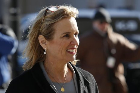 Kerry Kennedy, daughter of assassinated Senator Robert F. Kennedy and the ex-wife of New York Governor Andrew Cuomo, arrives to the Westches