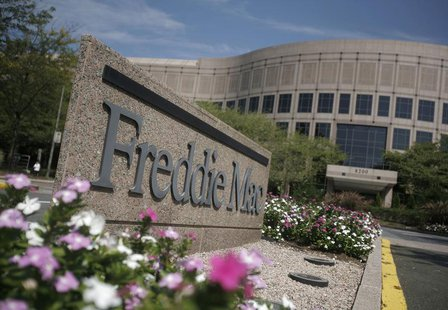 The headquarters of mortgage lender Freddie Mac is seen in Mclean, Virginia, near Washington, in this September 8, 2008 file photo. Freddie
