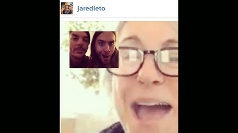 Image courtesy of Jared Leto via Instagram (via ABC News Radio)