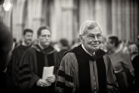 Former Hope College religion professor and author Dr. Allen Verhey, who died Wednesday, February 26 at age 68. (photo from www.duke.edu)