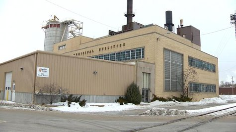 The River Street Power Plant in Menasha (Photo from: FOX 11).