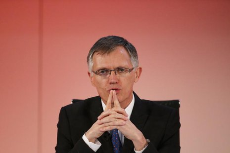 Carlos Tavares, incoming Chief Executive Officer of French carmaker PSA Peugeot Citroen, attends the company's 2013 results presentation and