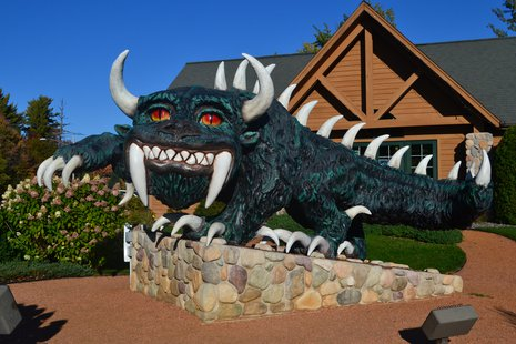 Hodag in Rhinelander  Photo: Wikipedia