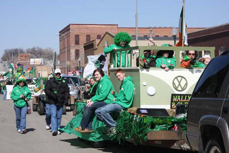 Sioux Falls florist Patrick Gustaf will serve as the Grand Marshal of the 35th Annual St. Patrick's Day Parade on Saturday, March 15. (KELO File)